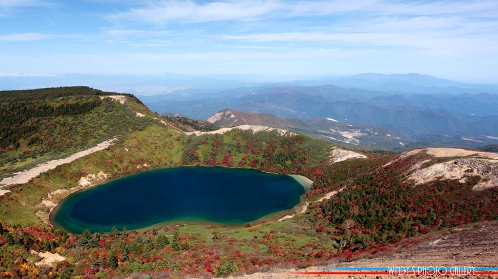 福島県の吾妻山系にある美しい色の五色沼。